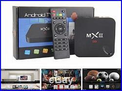 EzMediaXperience MX3 Android 4.4 Quad Core 2G/8G fully loaded XBMC 4k TV Box 3