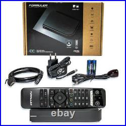 Formuler CC Iptv TV Box UHD 4K Android TV + Cable TV MyTVonline2 DVB-C-T2