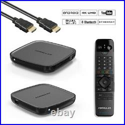 Formuler GTV 4K Ultra HD H. 265 Bluetooth Dual-WiFi TV IP Android 9.0 Mediaplayer