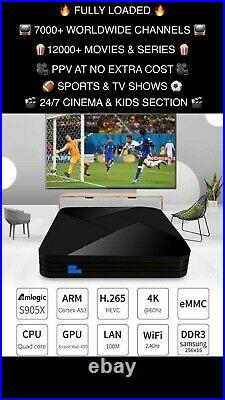 Fully Loaded Android Tv Box 4k