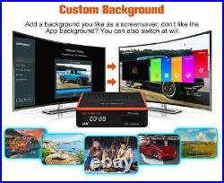 GTMedia GT Combo, Android 9.0 Smart TV BOX 3D 4K DVB-S2X/T2/C Satellite Receiver