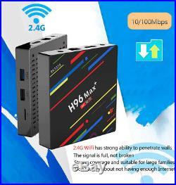H96 MAX+ Dual WiFi Bluetooth 4GB Android 8.1 TV Box+Google Voice Control Remote