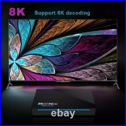 H96 MAX RK3566 8K UHD 8GB+64GB Voice Control TV Box Android 11 AC WIFI Streamer