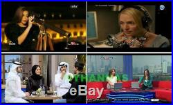 HD Arabic Turkish TV WIFI Receiver Box MBC ART NEWS Moives Cartoon Sports