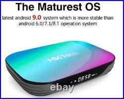 HK1 Android 9.0 4+64GB Dual WIFI BT4.0 TV BOX Amlogic S905X3 USB3.0 Media Player