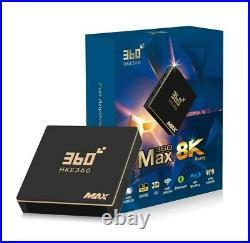 HKE360 Gen5 360MAX 4+128GB 8K TV box EVPAD Unblock Tech