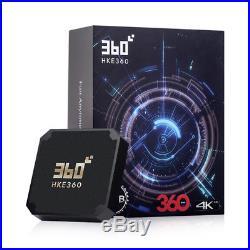 HKE360 TV BOX 2019360Pro Gen3 Chinese HK Asia Sport unblock IPTV TVPAD