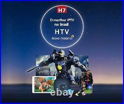 HTV BOX Brazil TV Box H7 4K 2GB+16GB with voice command 2021 Version