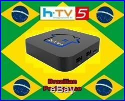 HTV5 Brasilian Portuguese 4K IPTV Internet Live Brazil TV Box HTV5