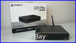HiMedia Q10 Pro 4K UHD Android 7 TV Box Media Streamer/Player with internal HD Bay