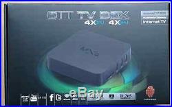 JAILBROKEN GENUINE MXQ 1.5GHZ TV BOX QUAD CORE ANDROID 4.4 LOADED KODI 15.2
