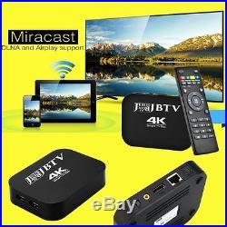 JESUS BOX TV 4K Android 4.4 TV Box 2GHz Quad Core CPU, 2GB RAM, 8GB memory