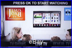 JESUS BOX TV Android 4.4 Smart TV BOX Fully Loaded Quad Core WIFI 1080P HDMI