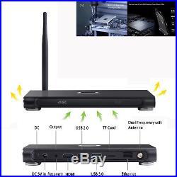 K10 PLUS 4GB+32GB Smart Android 7.1 TV BOX RK3399 Quad Core BT 4K HD Set Top Box