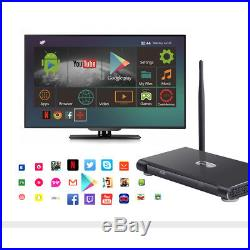 K10 Plus 4GB/32GB Android 7.1 Smart TV Box Quad-Core RK3399 Wifi 4K HD USB3.0 KD