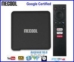 KM1 ATV Google Certified Android 10.0 TV Box Amlogic S905X 4K H. 265 Set top box