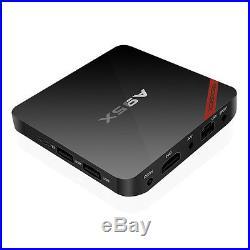 LOT 2/5/10 S905X 4K 3D Quad Core 2GHz NEXBOX A95X Android 6.0 Smart TV Box WIFI