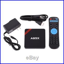 LOT 20 NEXBOX A95X Smart Mini TV BOX Android 6.0 4K HD 8GB QuadCore 64-Bit WiFi
