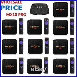 LOT MX10 PRO Smart TV BOX Android 9.0 32/64GB Quad Core 4K LED Media Player B8Z1