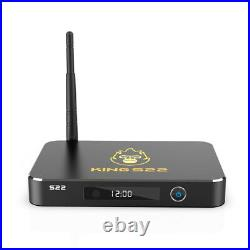 Latest Zoomtak King S22 8K UHD Amlogic S922X 4GB RAM 64GB ROM Android 9.0 TV Box