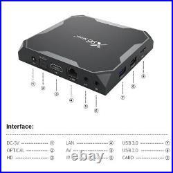 Lot 10/20 SETS X96 Max+ 4GB/64GB 8K Android 9.0 Amlogic S905X3 Dual WiFi TV Box