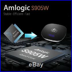 Lot 10x A95X F1 2/16G Android 8.1 TV Box S905W Quad Core WiFi 4K 3D Media Player