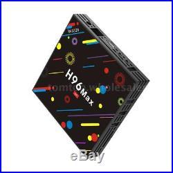 Lot 10x H96 Max-H2 Android 7.1 TV BOX HDR10 Quad Core 4G+32G WiFi BT4.0 USB 3.0