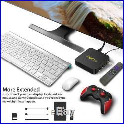 Lot 10x MX10 Android 9.0 Smart TV BOX RK3328 Quad Core 4K HD WiFi 3D Media