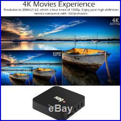 Lot 10x R39 RK3229 Quad Core Android 7.1 TV BOX Mini PC H. 265 WiFi 4K Media 8GB