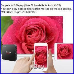 Lot 10x V88 Plus 2GB/16GB Android 8.1 Quad Core TV BOX KD18.0 WiFi HD Media R0Z4
