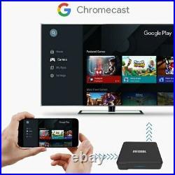 MECOOL KM1 4GB+64GB S905X3 Quad Core Android 10 TV Box 4K BT 5G WiFi HD Media