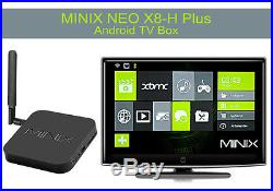MINIX NEO X8-H Plus Android TV Box 2160P, Quad Core CPU, Google TV Player, 16G