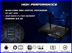 MONSTERBOX X1 PRO 2GB, 16GB 6K ANDROID TV Dual Band Wi-Fi 3D With 7 Days Playback