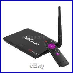 MX9 Pro RK3328 Android7.1 Quad Core TV Box WiFi 3D 4K UHD Media Player 16G BT4.0