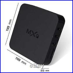 MXQ Android Quad-Core WiFi Kodi 1080P Smart set TV Box 1G/8GB XBMC Fully Loaded