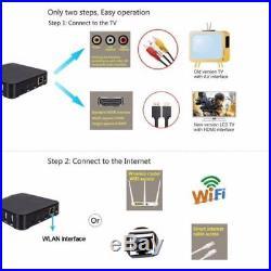 MXQ PRO KODI 18 3GB & 32GB 4K TV BOX Android 7.1 Quad Core Smart Media Player AU