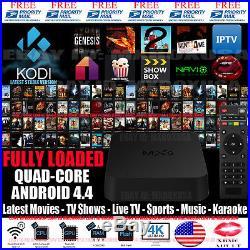 MXQ S805 KODI 15 2 QUADCORE ANDROID 4 4 2 TV BOX FULLY