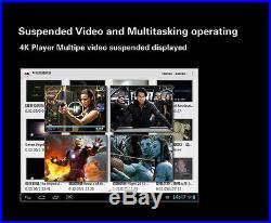Measy Quad Core Android TV Box Mini PC Webcam Camera 3D Blue-ray HDMI Media Play