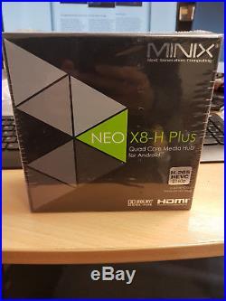Mini Neo X8-H Plus Android Quad Core 2GB 16GB Wifi 4K Ultra HD Smart TV Box