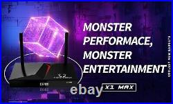 MonsterBox X1 Max 4GB Ram 128GB Media Player, 6K Android TV Dual-Band Wi-Fi NEW