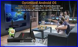 MonsterBox X1 Max 4GB Ram 128GB Media Player 6K Android TV Wi-Fi ROKU NVIDIA