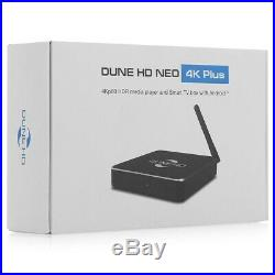 NEW Dune HD Neo 4K Plus, 4Kp60 HDR Media Player, Android 6.0.1 Smart TV box