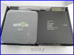 NITROID ANDROID BLACK BOX Quad Core Media STREAMER PLAYER MOVIES TV XD4