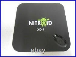 NITROID ANDROID BOX QUAD CORE Media PLAYER STREAMER MOVIES TV XD4 REFURBISHED