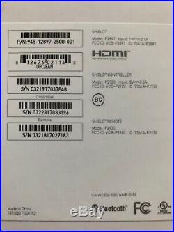 NVIDIA SHIELD TV Gaming Edition 4K HDR Streaming Media Player 16GB Remote & Box