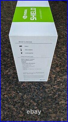 NVIDIA SHIELD TV NewithUnopened Box4K HDR Streaming Media Player Black