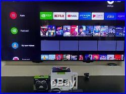 NVIDIA Shield TV 4K 16GB 1st Gen 2015, Controller, Box, New voice Remote