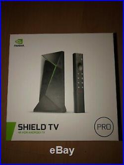 NVIDIA Shield TV Pro 4K HDR Media Streamer BRAND NEW IN BOX SHIPS NOW