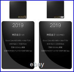 New Latest 2019 Boss TV V3 PRO Version 3 TV Box Global Network TV US Compatible