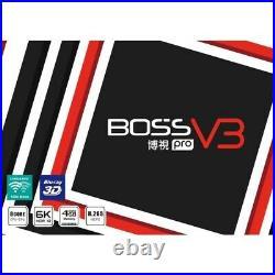 New Latest 2021 Boss TV V3 X Version 3 TV Box Global Network TV US Compatible